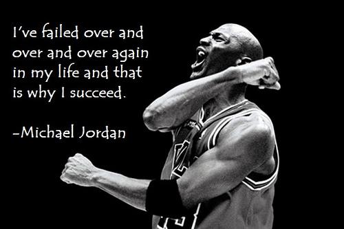 FAILING FORWARD: NEVER RELENT: KEEP STRIVING.