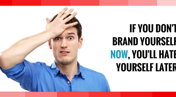 Why You Should Brand Yourself by Michael Cohn.