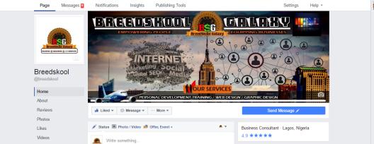 breedskool branded page